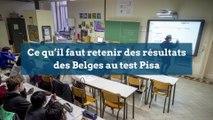 Ce qu'il faut retenir des résultats des Belges au test Pisa