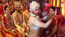 Manish Pandey and Ashrita Shetty Marriage Unseen Pics | Boldsky