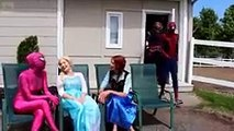 Spiderman VS Frozen Elsa and jOKER, aNNA Funny Compiltions