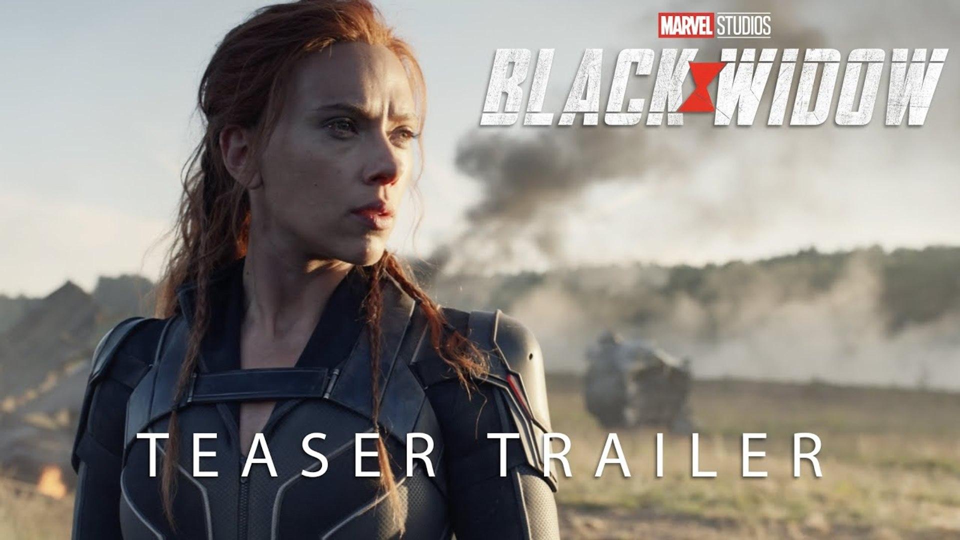 Black Widow Teaser Trailer 2020 Scarlett Johansson Action Movie