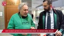 Cem Yılmaz'a açtığı tazminat davası reddedilen Prof. Dr. Orhan Kural ağladı