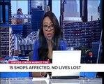 Owode Onirin Fire: 15 shops affected, no lives lost