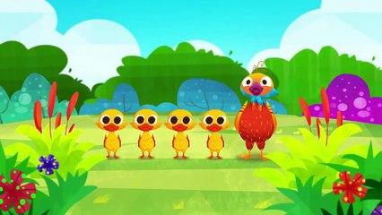 _5 Lil Ducks_ - Nursery Rhymes