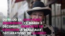 Miss France 2020 boycottée par Laurent Ruquier : Geneviève de Fontenay répond