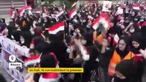 Irak : les femmes rejoignent les hommes pour réclamer la fin du régime