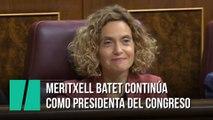Batet, elegida presidenta del Congreso