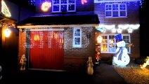 Ross Paget Christmas lights display raising funds for British Heart Foundation