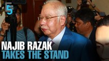 EVENING 5: Najib Razak tells his side