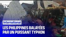 Les Philippines balayées par le puissant typhon Kammuri