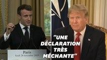 """Sur l'Otan, Macron s'est montré """"très irrespectueux"""", selon Trump"""