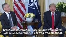 """Otan: Macron s'est montré """"très insultant"""", selon Donald Trump"""