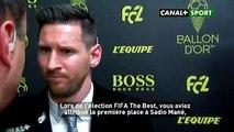 Messi  - ️ Javais choisi Sadio Mané car cest un joueur qui me plaît'