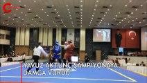 Yavuz Aktunç  4. Wushu Sanda Kungfu Şampiyonası'na damga vurdu!