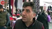 Kadıköy'de ilginç görüntü: 'Uçan pazarcı' o anları anlattı