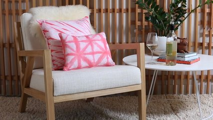 How to Make Shibori Pillows