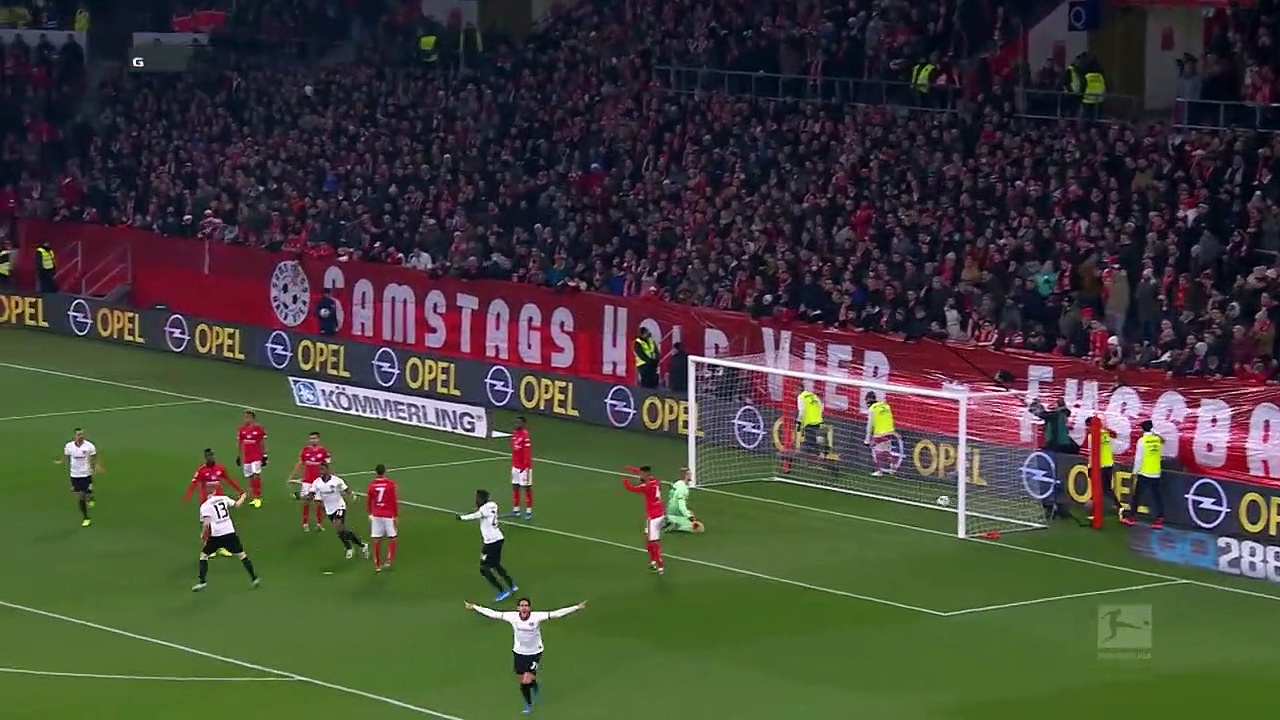 Mainz 05 - Eintracht Frankfurt (2-1) - Maç Özeti - Bundesliga 2019/20