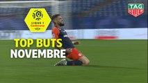 Top buts Ligue 1 Conforama - Novembre (saison 2019/2020)