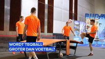 Wordt Teqball net zo populair als voetbal?