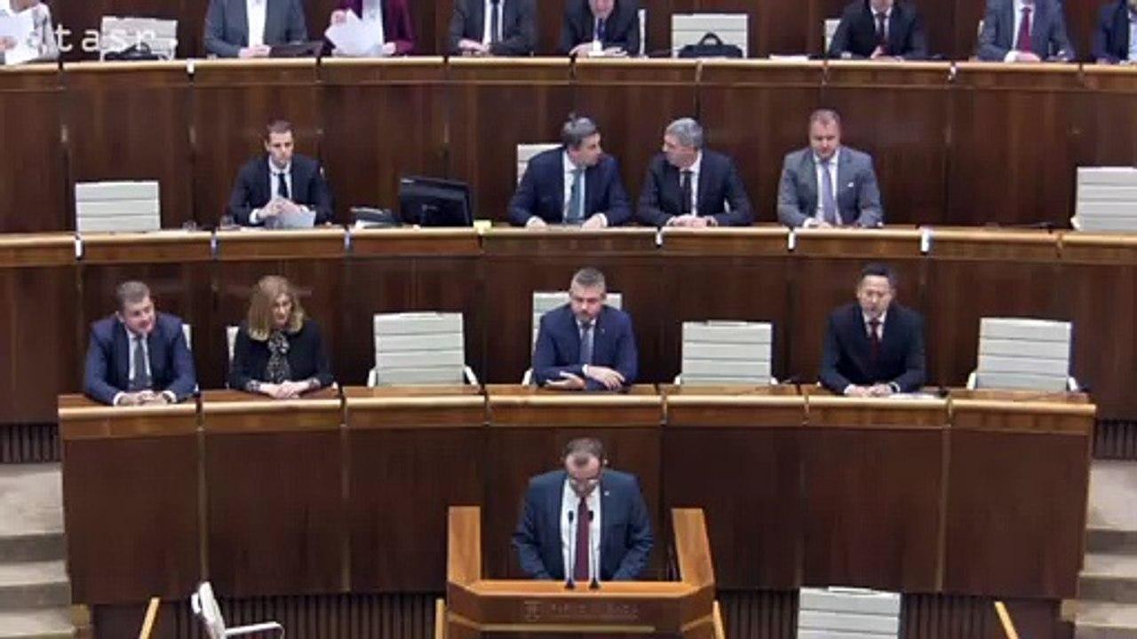 NRSR: Parlament schválil návrh štátneho rozpočtu na budúci rok