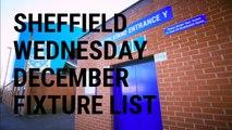 Sheffield Wednesday December fixture list 2019