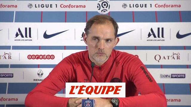 Tuchel à propos de Thiago Silva «Ce n'est pas seulement ma décision» - Foot - L1 - PSG