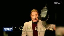 L'oréal Pub, Johnny Hallyday - Les Guignols - Canal+
