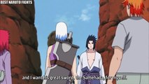 Sasuke Uses Shunshin to Stop Suigetsu and Jugo with Intent to Kill, Itachi and Kisame Hunting Yonbi