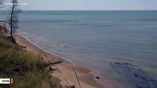 Storms Uncover Shipwreck In Michigan