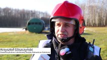 Ćwiczenia ratowniczo - gaśnicze na łódzkim lotnisku