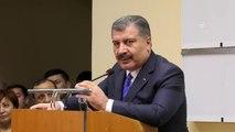 Sağlık Bakanı Koca, Özbekistan'da Türk hekimlerin tedavi ettiği hastaları ziyaret etti