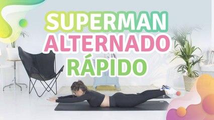 Superman alternado rápido - Melhor com Saúde