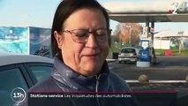 Pénurie de carburants : les stations-service essaient de gérer l'afflux de véhicules