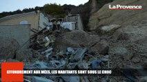 Le 18:18 - Au lendemain de l'éboulement, les habitants du village des Mées toujours sous le choc