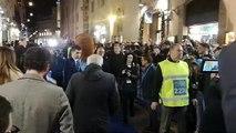 Inaugurazione Lazio Style - L'arrivo di Lotito