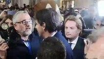 Inaugurazione Lazio Style - L'arrivo di Inzaghi