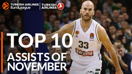 Top 10 Assists of November!