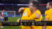 Liga |  15ème journée : Le Barca brille à Madrid