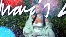 Rihanna Collects Fashion Award on Behalf of Fenty