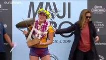 Carissa Moore ganha quarto campeonato do mundo de surf