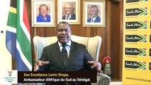 """Son Excellence Lenin Shope, Ambassadeur d'Afrique du Sud au Sénégal : """"Les relations avec le Sénégal sont excellentes"""""""