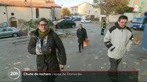 Alpes-de-Haute-Provence : les habitants redoutent un autre éboulement après la chute d'un rocher