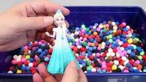 Slime Glitter Learn Colors Mix Aquarium Combine Surprise Eggs Toys