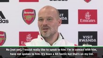 Ljungberg keen to speak to Wenger