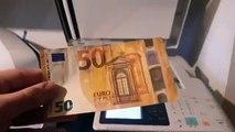 Il tente de photocopier un billet de 50 euros, ce qui se passe est incroyable