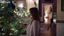 Décorations de noel à la maison blanche par Melania Trump !