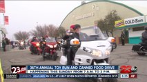 36th Annual Bakersfield Toy Run and Canned Food Drive
