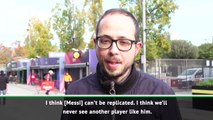 We'll never see another player like him - fans have their say on Messi