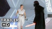 """STAR WARS 9 """"Rey Fights Kylo"""" Trailer"""