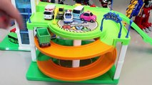 Tayo the Little Bus Parking Garage Play Doh Toy Surprise Learn Colors Toys