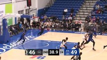 Christ Koumadje rises up and throws it down